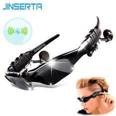 Sport Stereo Wireless Bluetooth Headset 3 colorful Sun lens Earphones Sunglasses mp3 Riding Glasses - intl