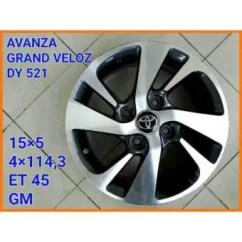 Jual Velg Grand New Veloz All Vellfire Interior Toyota Avanza Dy521 Rims 15 Silver 1 Set 4 Pcs