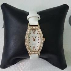 Trapezed Crystal Vnc Watch