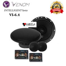 VENOM Intelligent VI-6.4 VI6.4 Speaker Split 2-Way Component Set Mobil