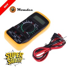 Womdee Digital Multimeter Multi Tester HOLDPEAK 838L Manual-Ranging Multi Tester With Non Contact Voltage Test Volt Amp Ohm Meter With Diode And HFE Test - intl