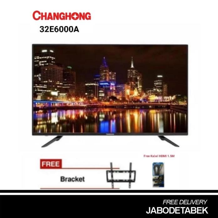Changhong 32G4A LED TV [32 inch]2HDMI,2USB,1VGA+ Bonus Bracket Dinding