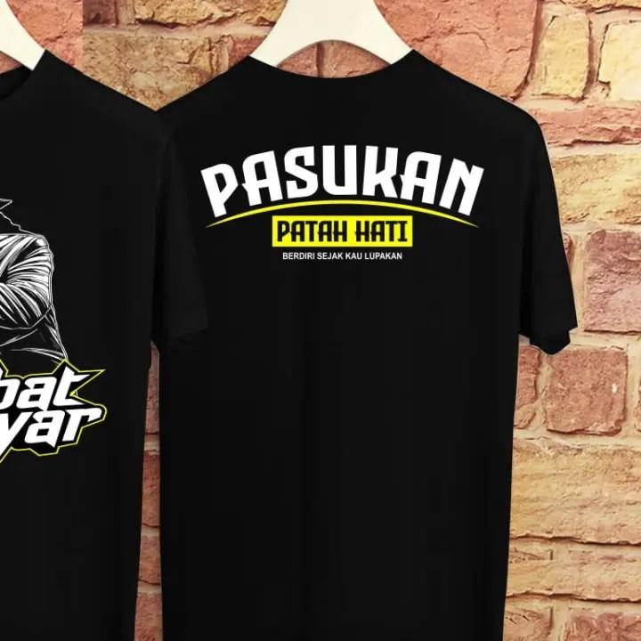 Jirex Store Kaos T Shirt Oblong Pria Wanita Distro Bandung