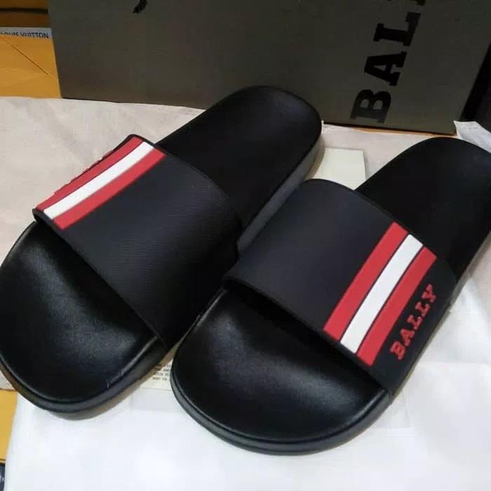 sandal bally kualitas mirror fendi lv hermes