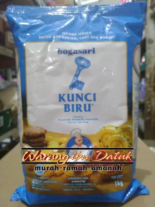 Tepung Kunci Biru : tepung, kunci, Tepung, Terigu, KUNCI, PREMIUM, Kemasan, Murah, Lazada, Indonesia