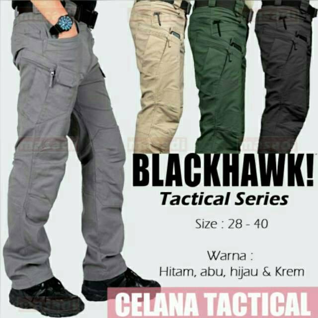 Arc Celana Cargo Panjang Pria Outdoor Tactical Blackhawk Cream