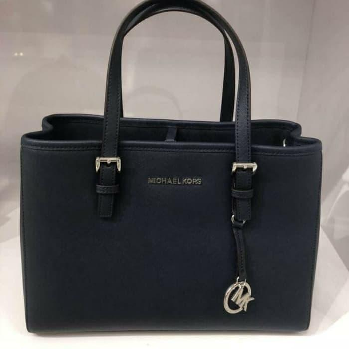 Michael Kors Jet Set Ew Tote Black