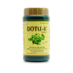 Borobudur Herbal Gotu-K - 100 Kapsul - Meningkatkan Daya Ingat