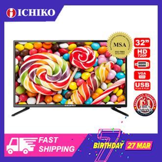 ICHIKO TV LED 32 inch HD (model S3278)