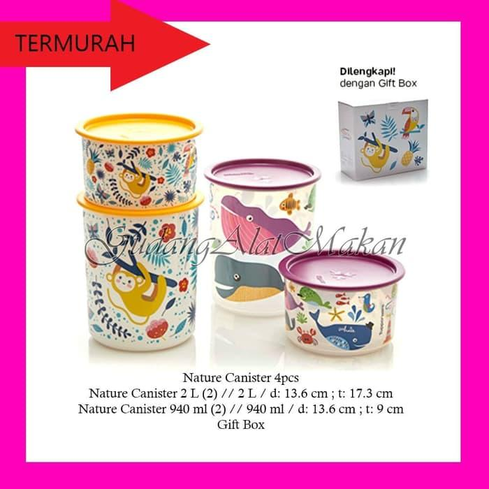 Tupperware Nature Canister 2pcs