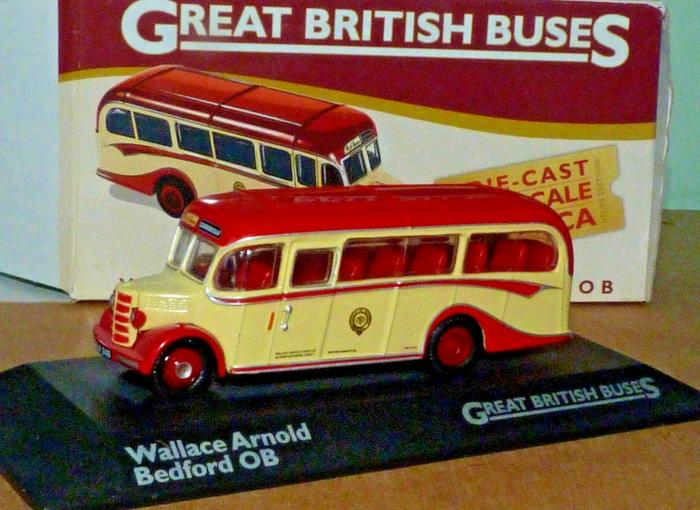 ATLAS EDITIONS 1:76 BEDFORD OB - WALLACE ARNOLD. / KIDS TOYS / MAINAN ANAK-ANAK / HOBBY & MAINAN / TOYS / FUNNY / MA-A7706