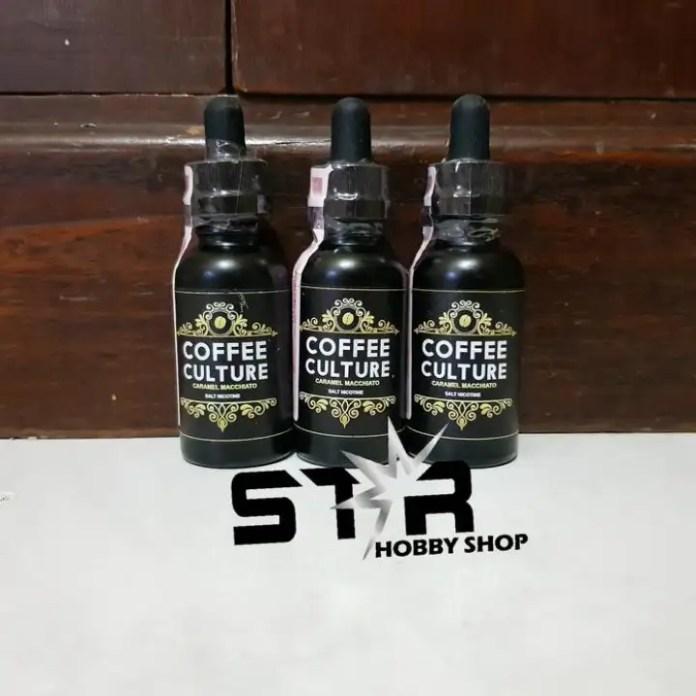 Coffee Culture Salt Premium Vape Lokal Eliquid Lazada Indonesia