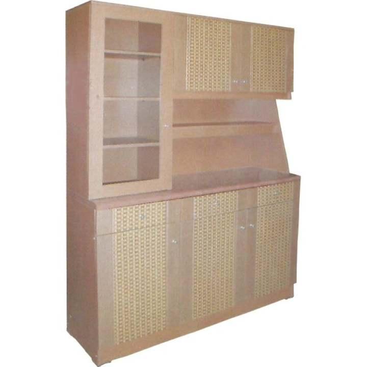 Lemari Sayur Kitchen Rak Dapur 3 Pintu LS 502 Set Atas