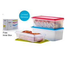 Tupperware Stak N' Stor Set 3pcs