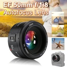 Yongnuo 50MM F1.8 AF/MF Prime Fixed Lens for Canon 6D 7D 60D 70D 700D DSLR