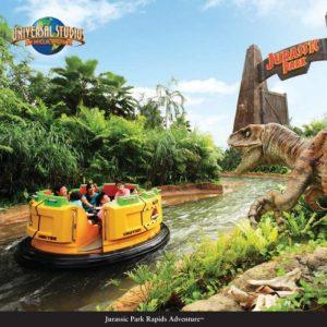 Universal Studios Singapura: The Lost World