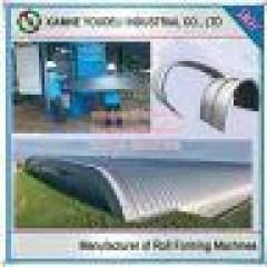 Pabrik Baja Ringan Profil Z Tapered Metal Roofing Sheet Roof Curving Machine ...