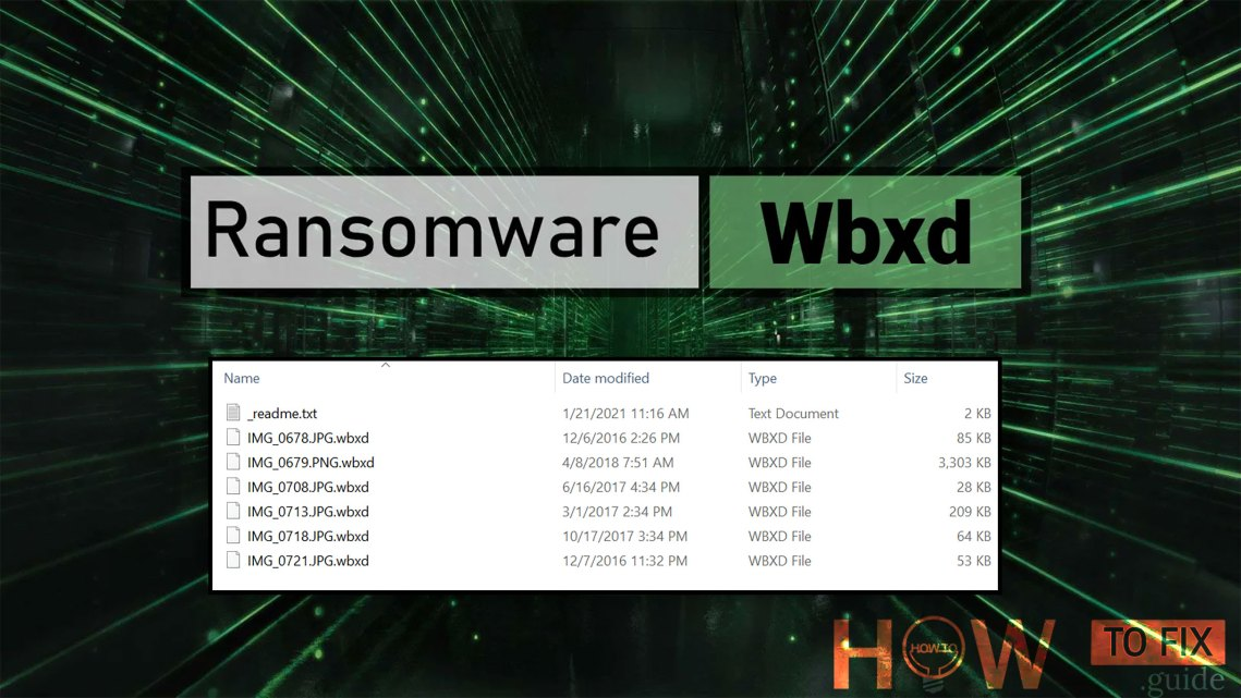 WBXD Ransomware