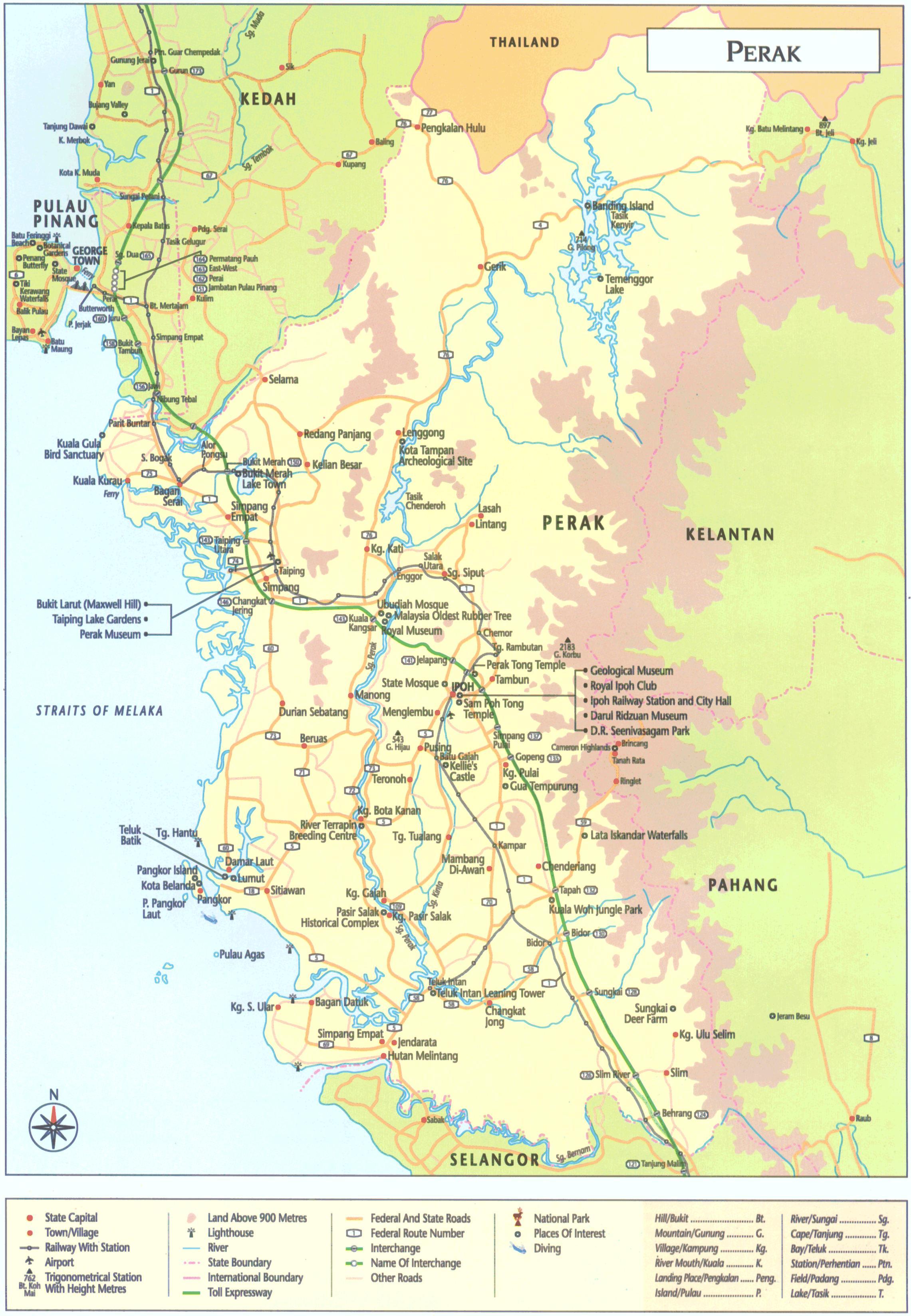 Negara Bagian Malaysia : negara, bagian, malaysia, Perak, Malaysia, Negara, Bagian, Perak,, (Selatan-Timur, Asia)