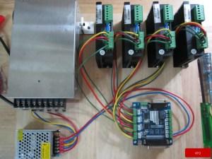 CNC electronics wiring – iD2CNC