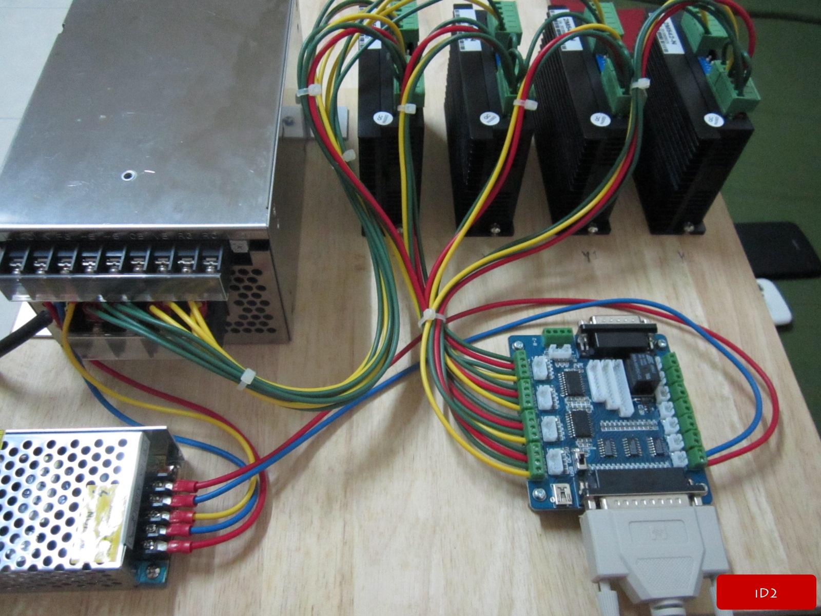 controller box build id2cnc rh id2cnc com 23hs9430 wiring diy cnc limit switch wiring [ 1600 x 1200 Pixel ]