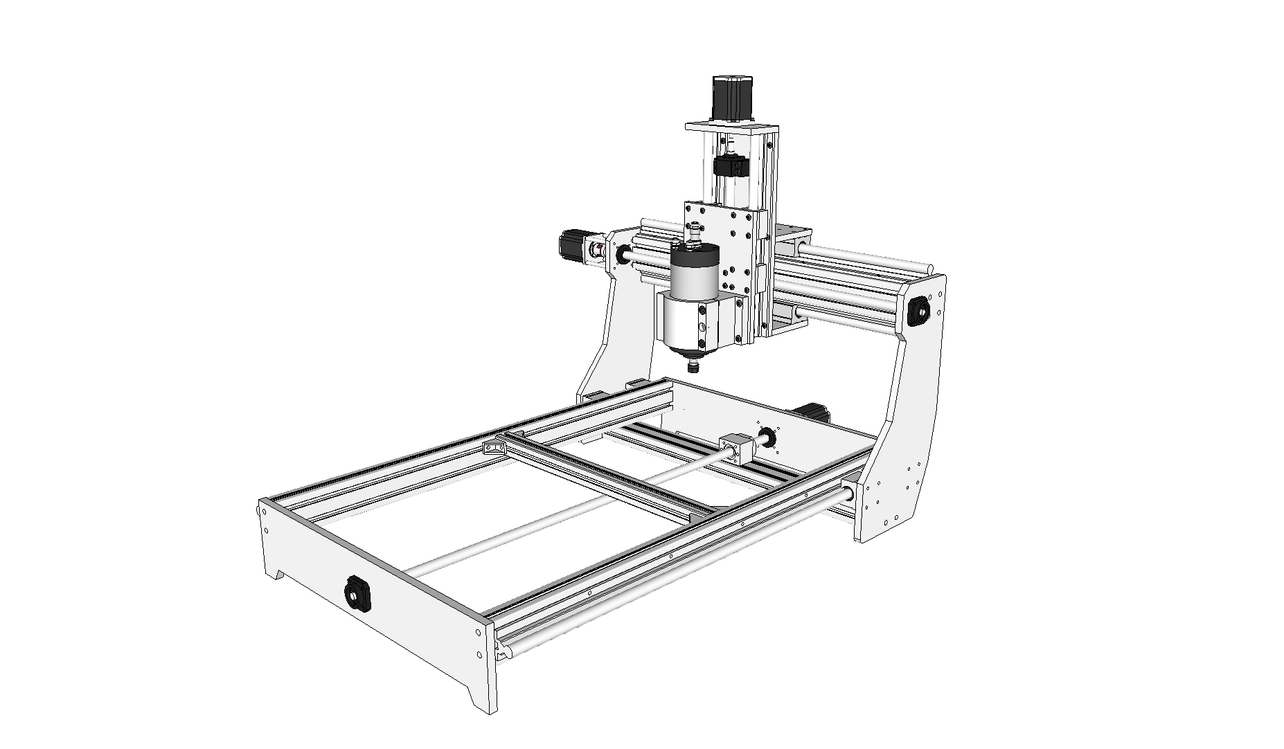 New Machine Build iD2CNC V.3.0.1 New machine build log