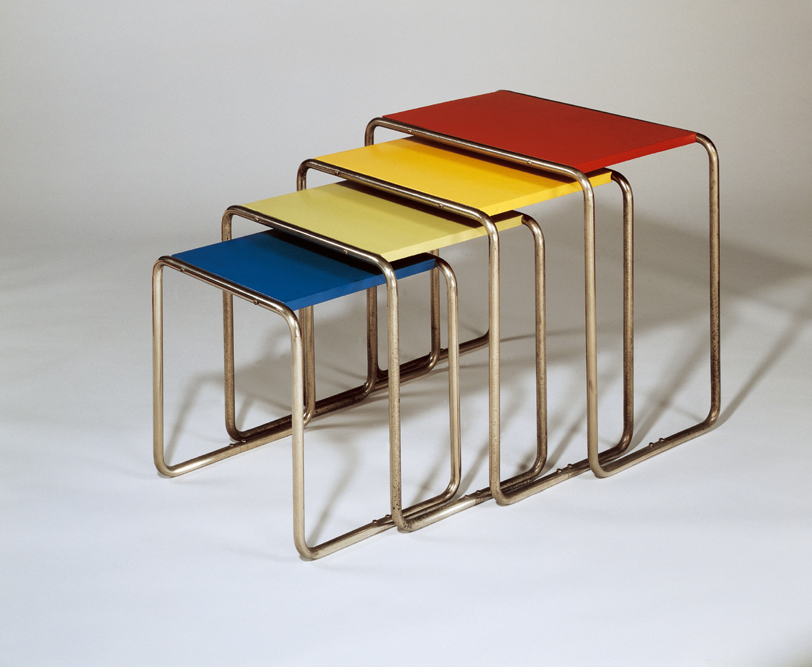 steel chair manufacturing process folding rocking vintage the school of art architecture and design bauhaus 1919