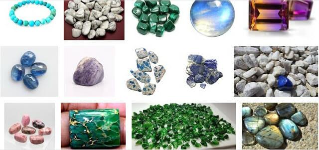أسماء وصور الأحجار الكريمة النادرة إضاءات عالمية