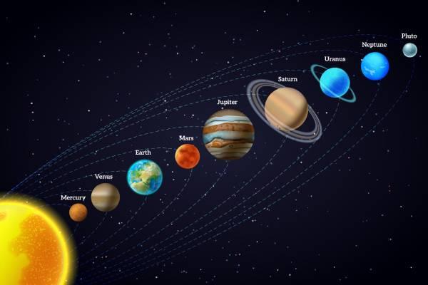ماهي المسافة بين الكواكب والأرض إضاءات عالمية