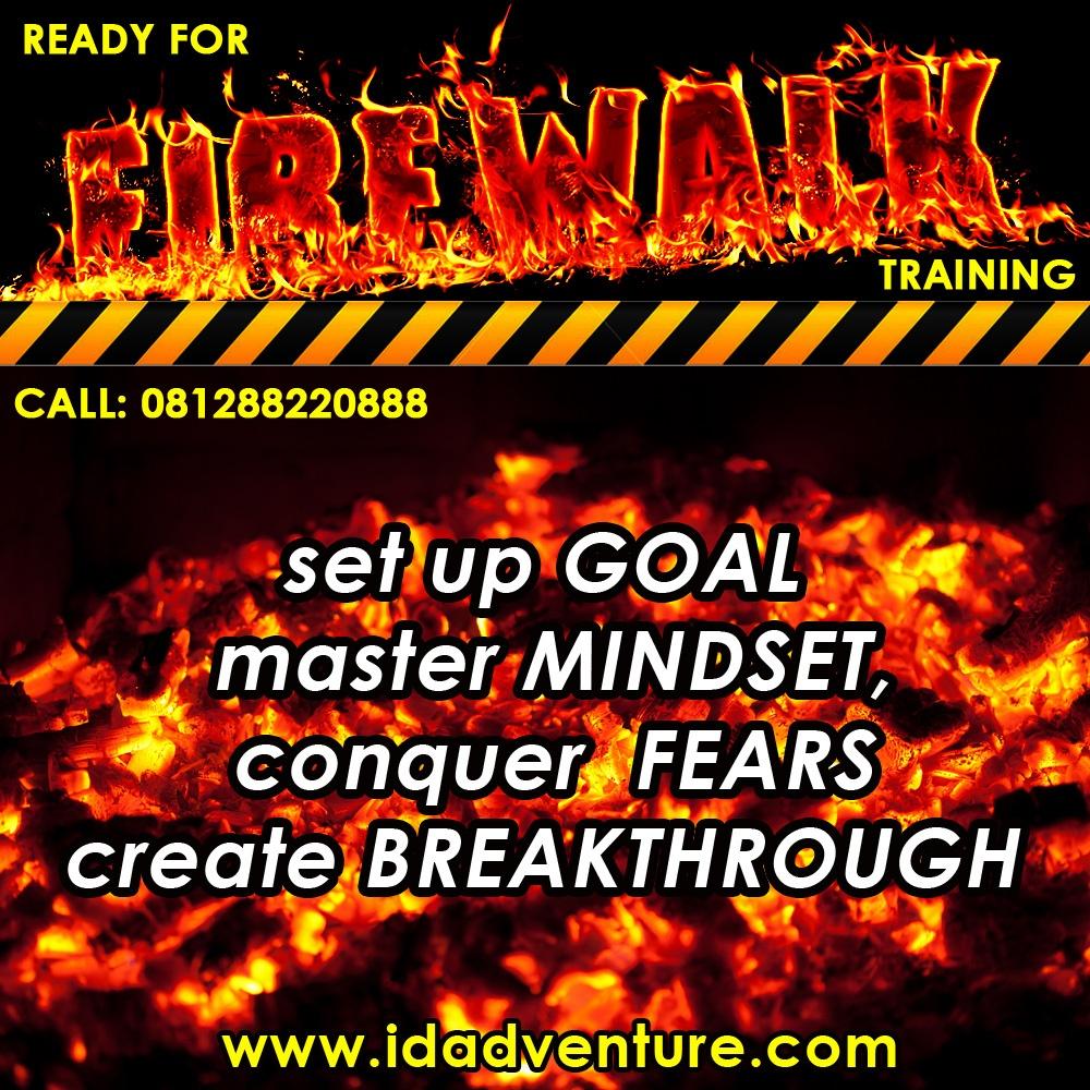 Fire Walking Training