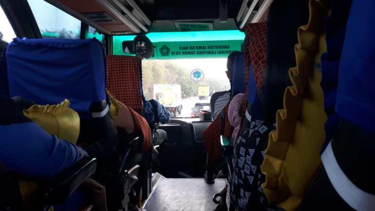 Perjalanan menuju Lampung