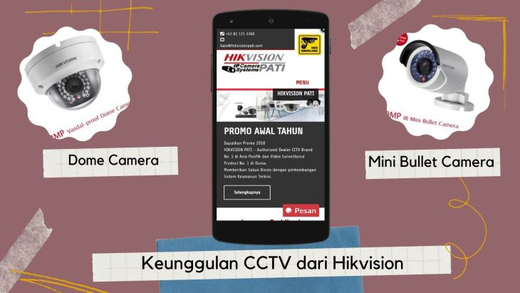 Keunggulan CCTV dari Hikvision