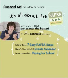 applying for financial aid for college