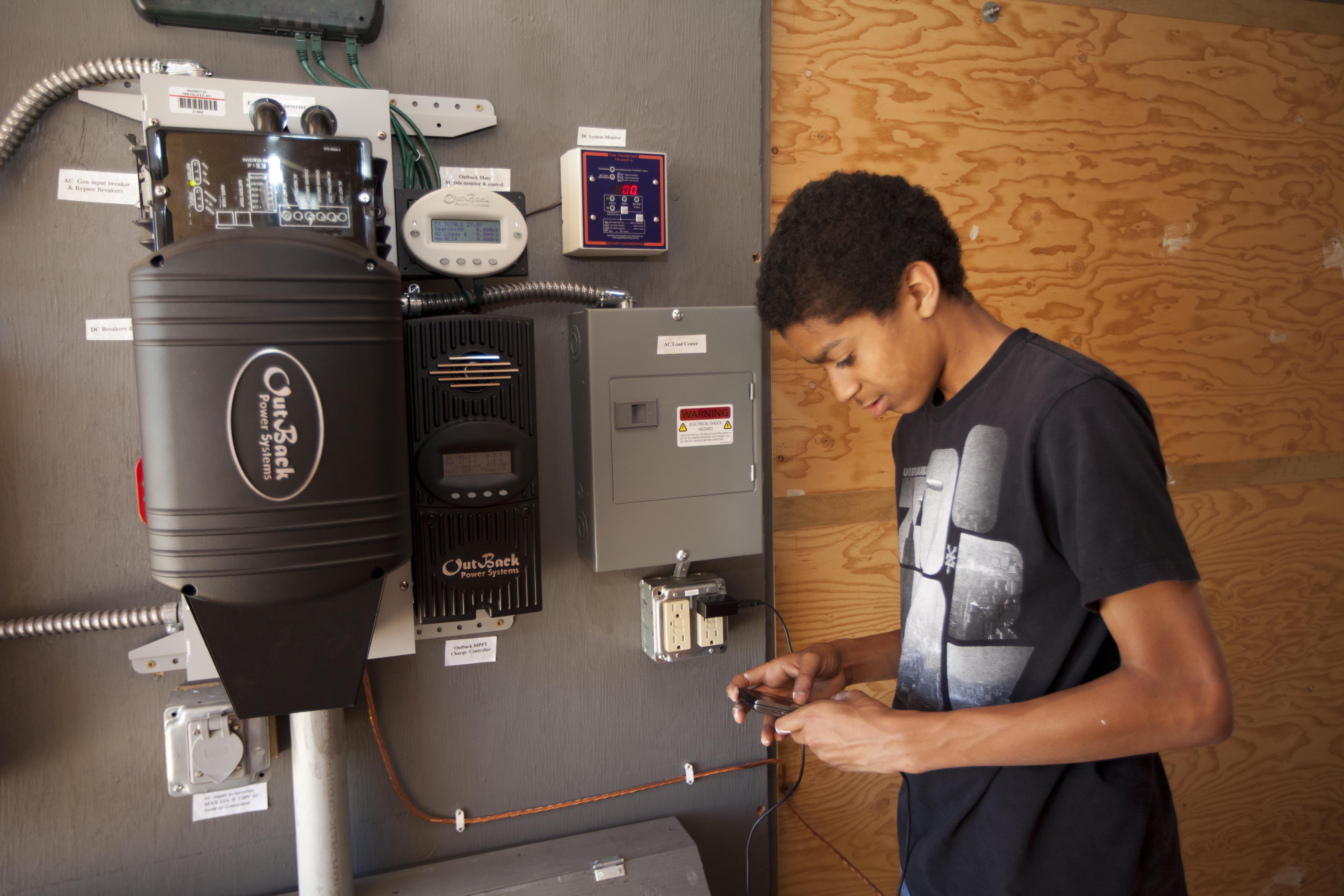 Grow Green Grant Helps Students Learn New Skills Idaho Work