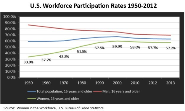 Workforce Participation Graph