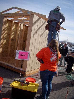 Construction training fair