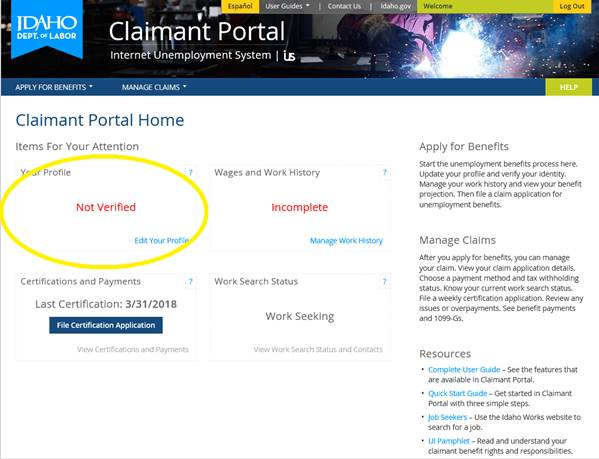 DMV Computer Upgrades Mean Delay in Verification in Claimant Portal ...