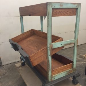 Display Cart side-rear