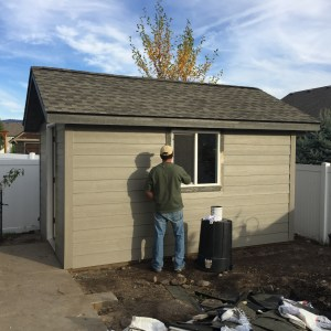 new site built shed