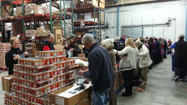 Boise Food Bank Volunteer