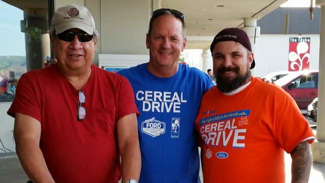 Joe Hall Cereal Drive
