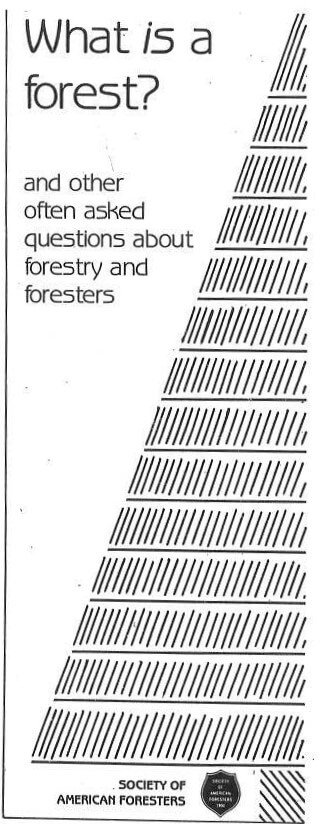 What is a Forest? And other questions about forestry and