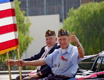 Military Vets in Parade