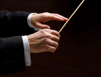 Directing Philharmonic Symphony Orchestra