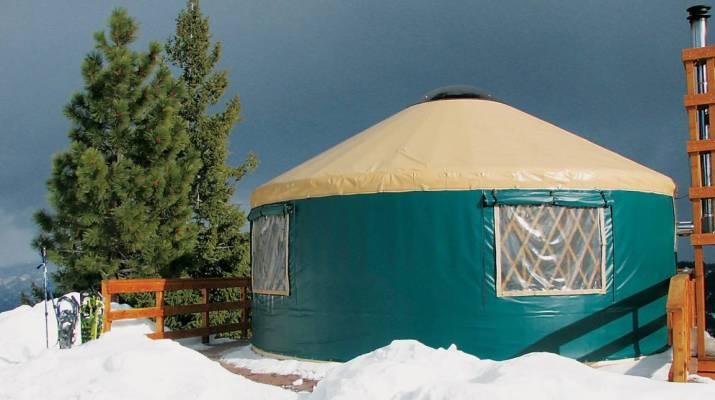 Idaho Park N Ski Yurt