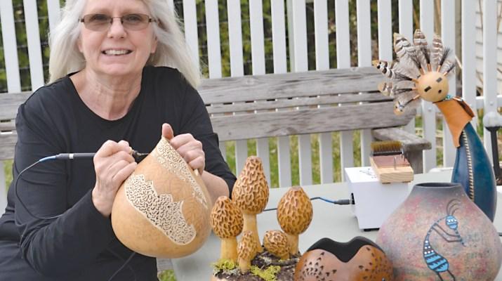 Gourd Artist Carol Joyce
