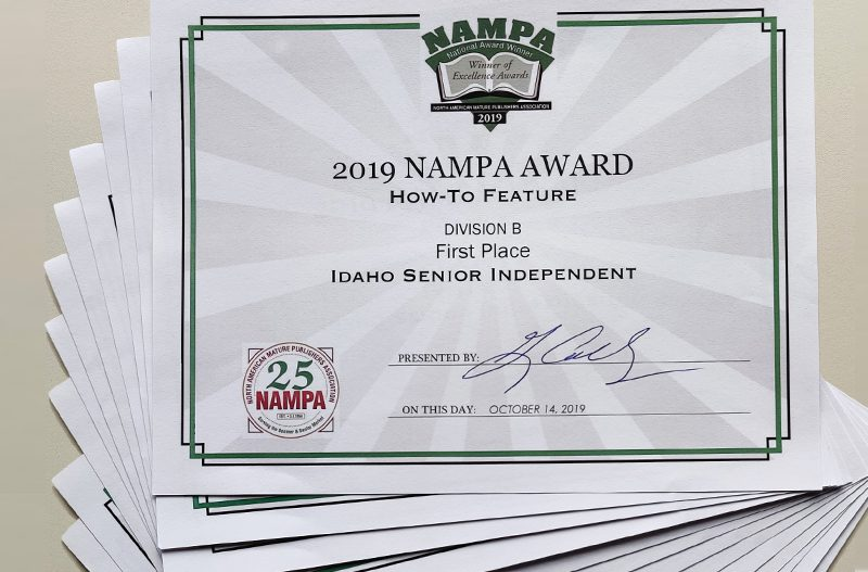 2019 NAMPA Awards — ISI Getting Better All the Time
