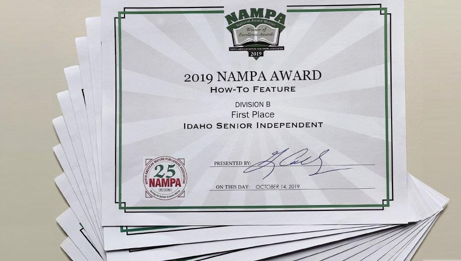 2019 NAMPA awards
