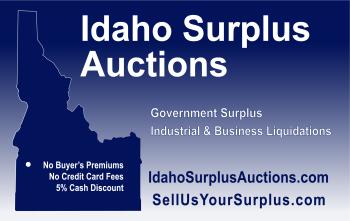 Idaho Surplus Auctions