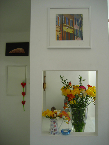 flowers & picture